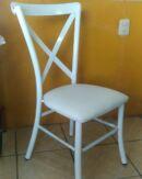 sillas para restaurantes crossback resistente