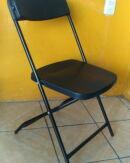 silla plegable de plastico
