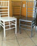 sillas tiffany fijas varios colores