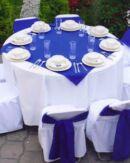 cubre mantel para mesa redonda