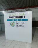 cabina sanitizante covid-19